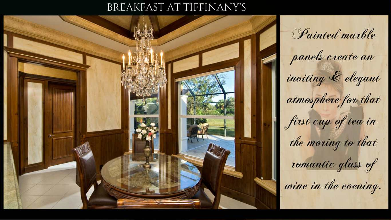 Breakfast At Tiffinany  You Look Marbleous