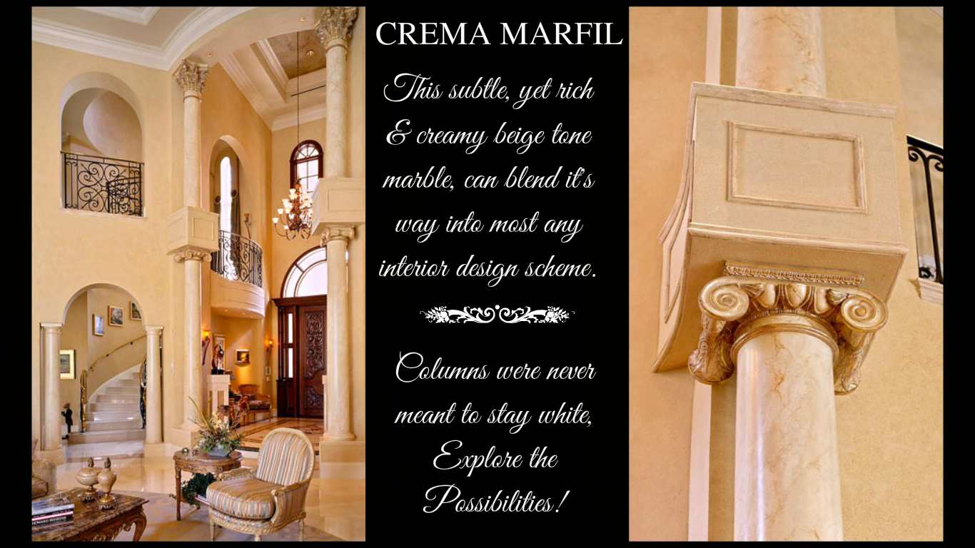 Crema Marfil  You Look Marbleous Collection