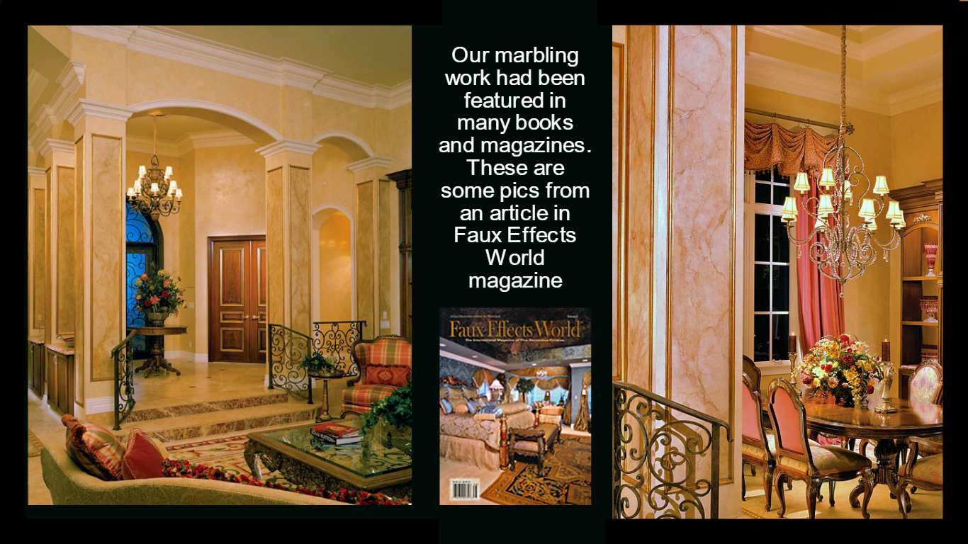 FAux Effects World Magazine  You Look Marbleous Collection