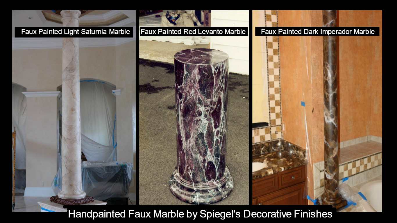 Faux Marble  You Look Marbelous Collection