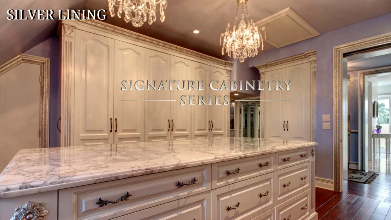 SILVER LINING  SIGNATURE CABINETRY COLLECTION