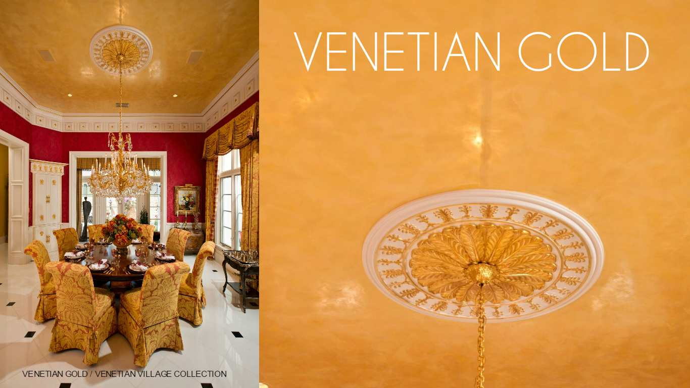 VENETIAN GOLD  VENETIAN VILLAGE COLLECTION