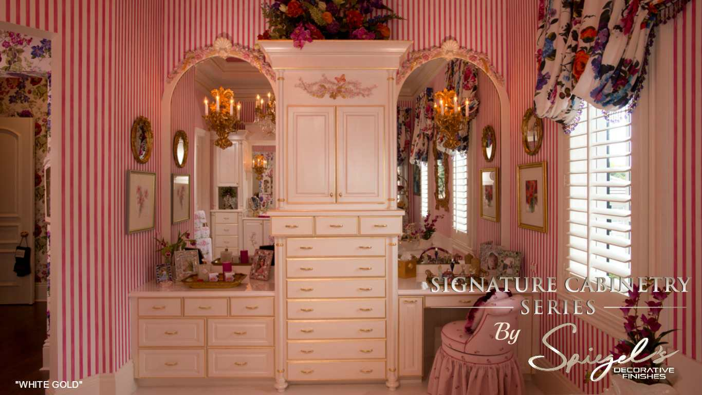 WHITE GOLD  SIGNATURE CABINETRY SERIES
