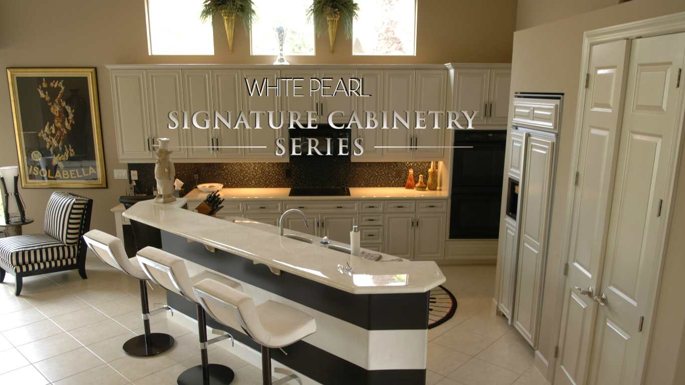 WHITE PEARL SIGNATURE CABINETRY COLLECTION