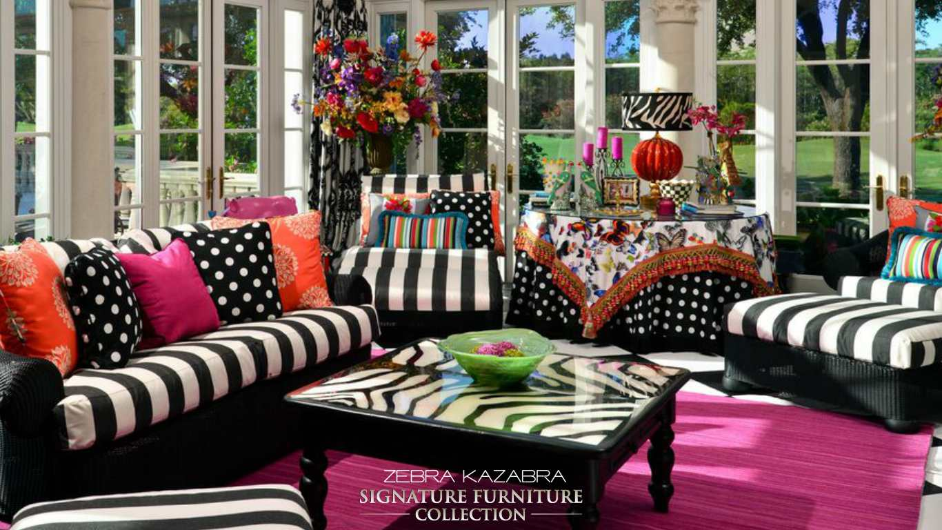 ZEBRA KAZABRA  SIGNATURE FURNITURE COLLECTION