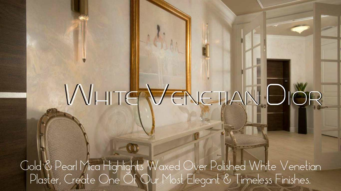 white Venetian Dior pearls of wisdom